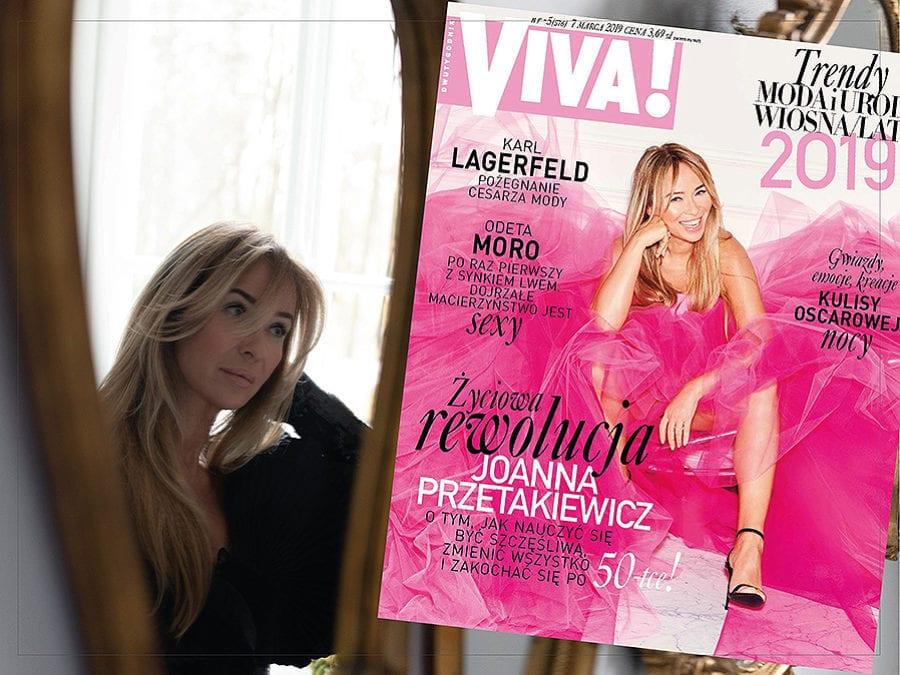 Sesja zdjęciowa Joanny Przetakiewicz Magazynu Viva