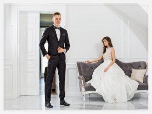 Sesja zdjęciowa Ślubna Magazynu Logo