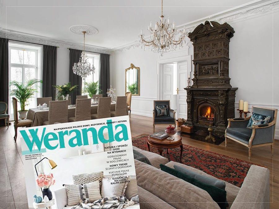 Sesja zdjęciowa do Artykułu Magazynu Weranda